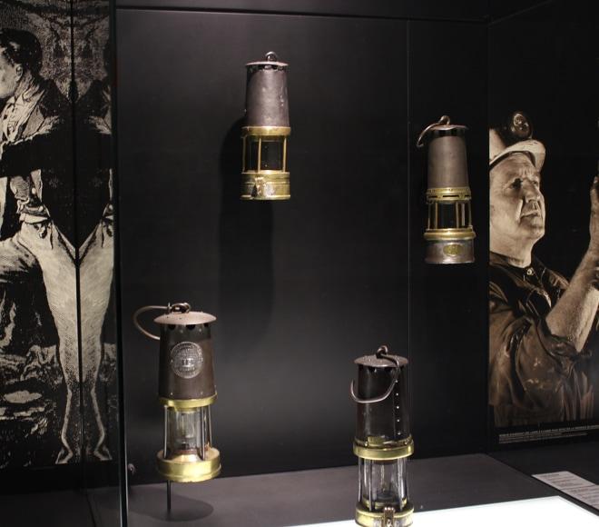 Lampisterie- Lampes à flamme utilisées par les mineurs