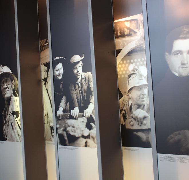 hall du mineur galerie de portraits